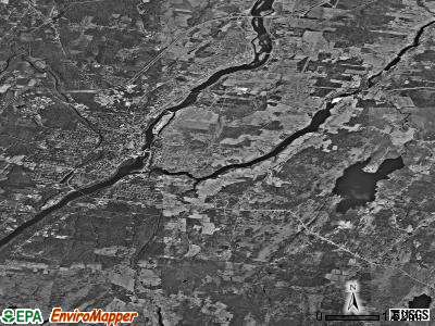 Winslow satellite photo by USGS