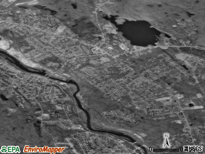 Cumberland Hill satellite photo by USGS