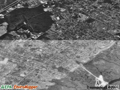 Northfield satellite photo by USGS