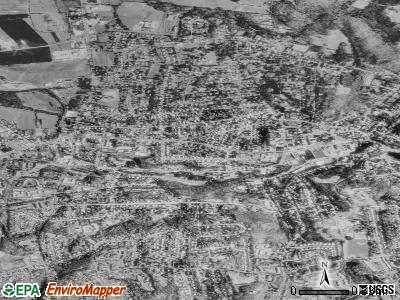 Rockville satellite photo by USGS