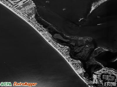 Longboat Key satellite photo by USGS