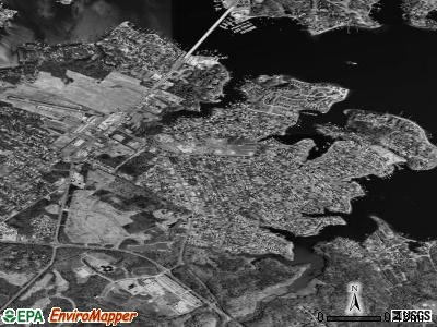 Londontowne satellite photo by USGS