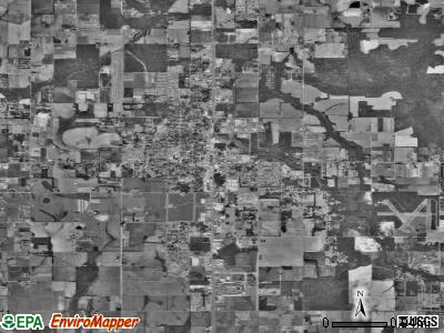 Foley satellite photo by USGS