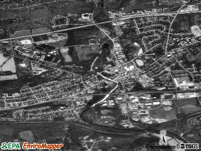 Downingtown satellite photo by USGS