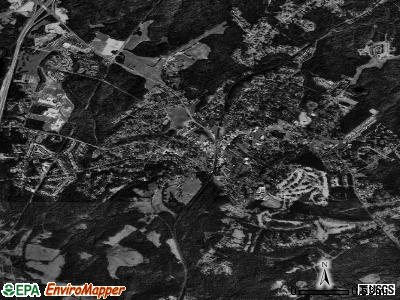 Fort Mill satellite photo by USGS