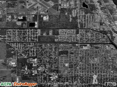 Fort Pierce North satellite photo by USGS