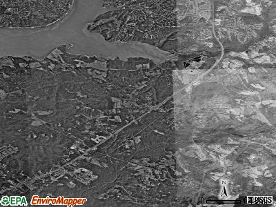 Accokeek satellite photo by USGS