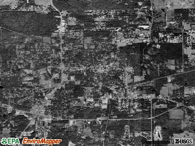 Brooksville satellite photo by USGS