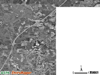 Greenville satellite photo by USGS