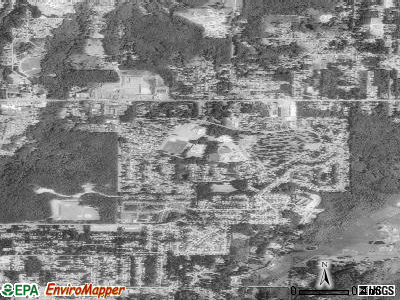 Parkwood satellite photo by USGS