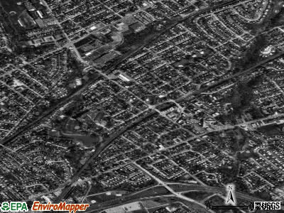 Ridley Park satellite photo by USGS