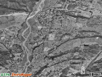Mira Monte satellite photo by USGS