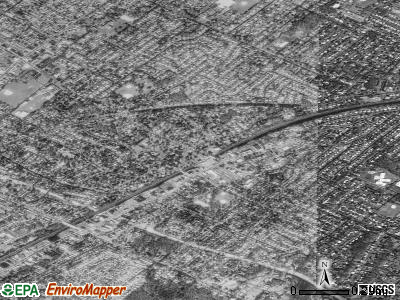 Fanwood satellite photo by USGS