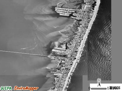 Ocean City satellite photo by USGS