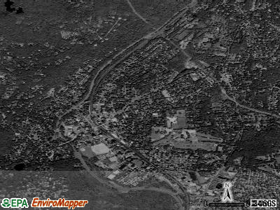 Pleasantville satellite photo by USGS