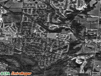 Bellbrook satellite photo by USGS
