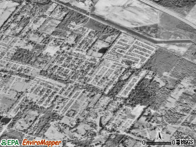 Village St. George satellite photo by USGS