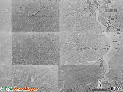 Hesperia satellite photo by USGS