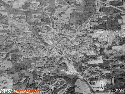 Siler City satellite photo by USGS