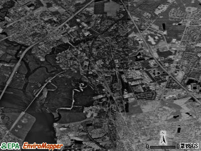 Dock Junction satellite photo by USGS
