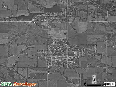 Norwalk satellite photo by USGS