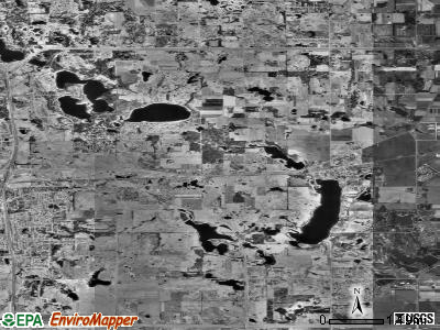 Lake Elmo satellite photo by USGS
