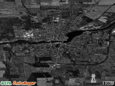 Seneca Falls satellite photo by USGS