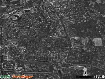 East Hills satellite photo by USGS