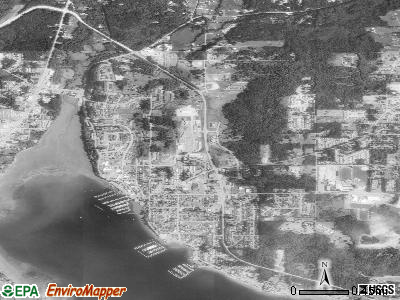 Poulsbo satellite photo by USGS