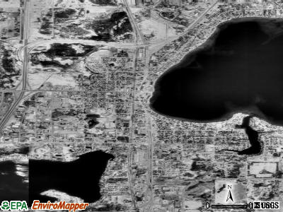 Forest Lake satellite photo by USGS