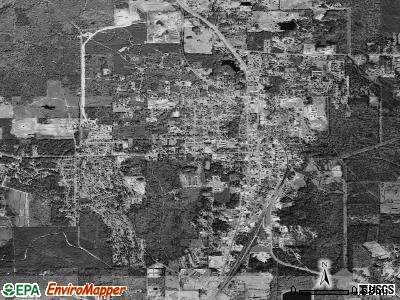 Leesville satellite photo by USGS