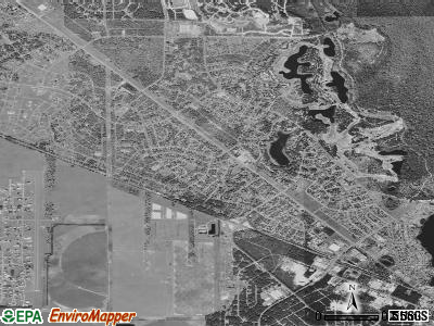 Silver Springs Shores satellite photo by USGS