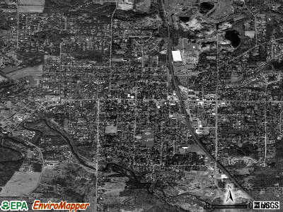 East Aurora satellite photo by USGS