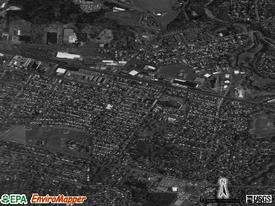 East Rochester satellite photo by USGS
