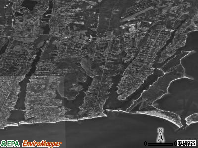 East Falmouth satellite photo by USGS