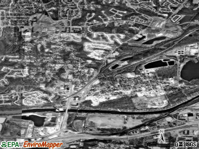 Valley Park satellite photo by USGS