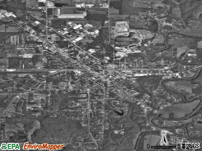 North Vernon satellite photo by USGS