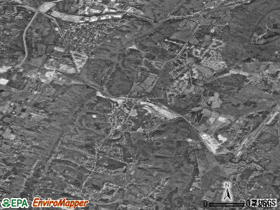 Collegedale satellite photo by USGS