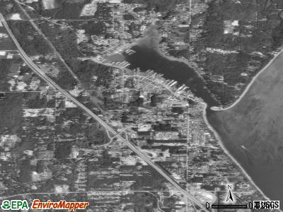 Gig Harbor satellite photo by USGS