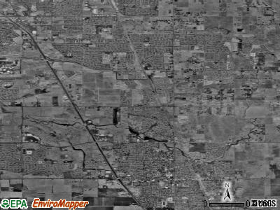 Elk Grove satellite photo by USGS