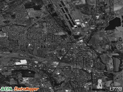 Horseheads satellite photo by USGS