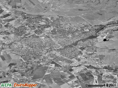 Chico satellite photo by USGS