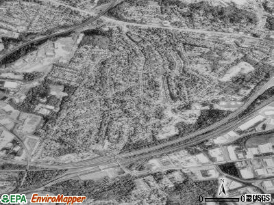 Cheverly satellite photo by USGS