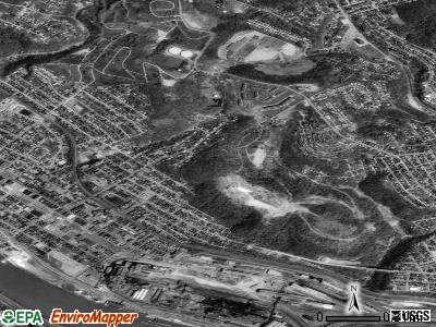 North Braddock satellite photo by USGS