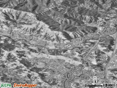 Lucas Valley-Marinwood satellite photo by USGS