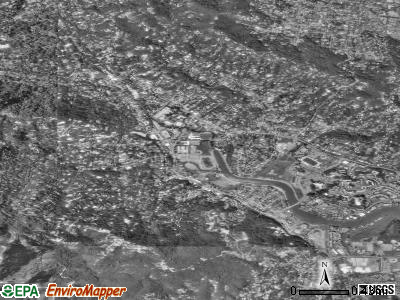 Kentfield satellite photo by USGS