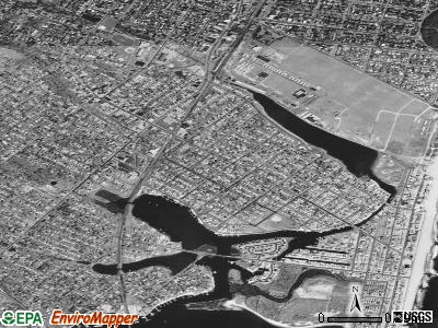 Manasquan satellite photo by USGS