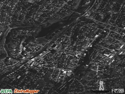 Tuckahoe satellite photo by USGS