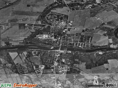 Yorkville satellite photo by USGS