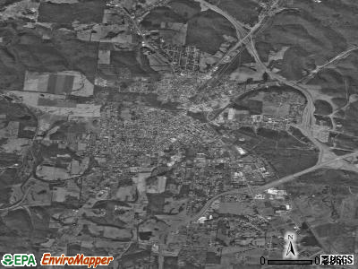 Hapeville satellite photo by USGS